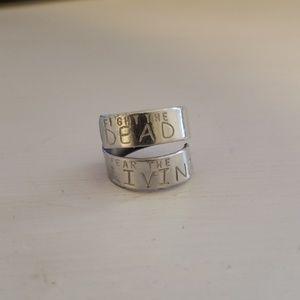 Jewelry - Walking Dead Adjustable Ring